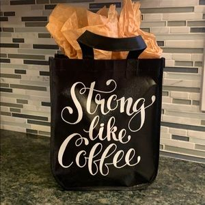 "Starbucks ""Strong like coffee"" reusable bag"